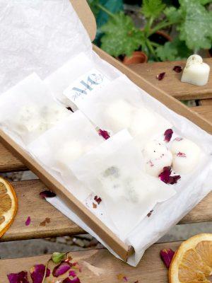 wax melt sample box