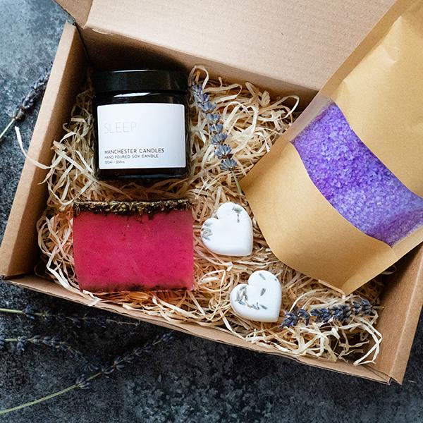 Lavender Self Care Kit