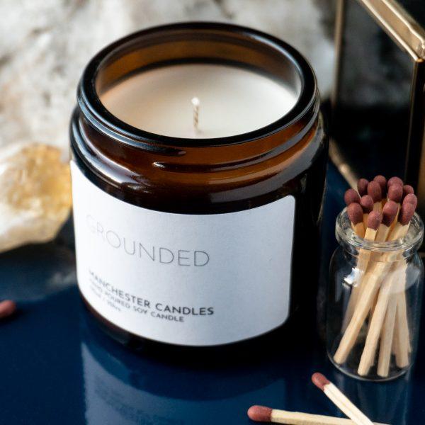 frankincense & myrrh aromatherapy candle