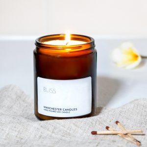 frangipani coconut candle