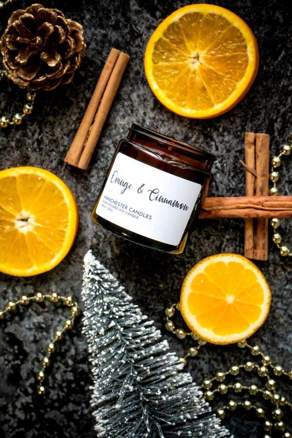 orange & Cinnamon candle