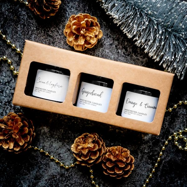 candle trio gift box