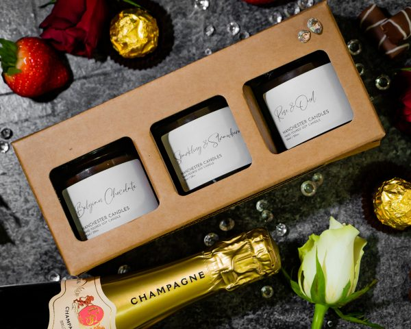 candle trio gift set
